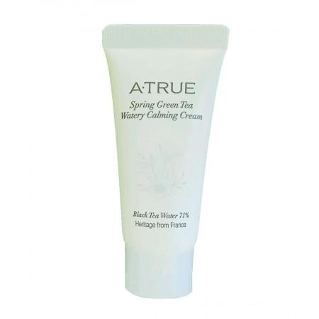 Миниатюра Увлажняющий крем A-True Spring Green Tea Watery Calming Cream