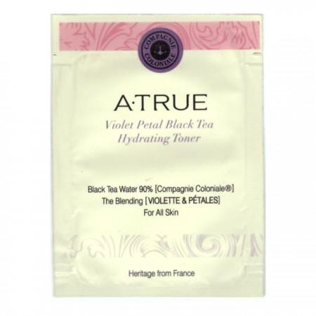 Пробник Увлажняющий тоник A-True Violet Petal Black Tea Hydrating Toner