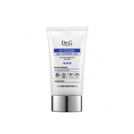 Солнцезащитный крем Dr.G A-Clear Oil Control Sun SPF 50+ PA+++
