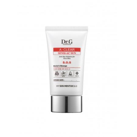 Солнцезащитный крем Dr.G A-Clear Sensi AC Sun SPF43 PA+++