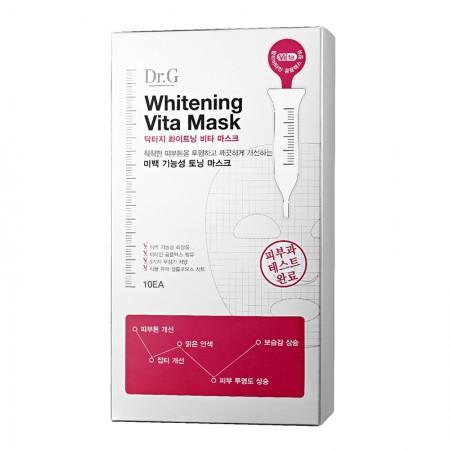 Тканевые маски с витаминами Dr.G Whitening Vita Mask (упаковка 10 шт)
