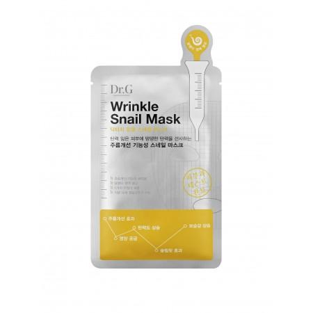 Тканевая маска с экстрактом улитки Dr.G Wrinkle Snail Mask