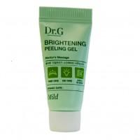Миниатюра отшелушивающий и осветляющий пилинг-гель Dr.G Brightening Peeling Gel 5g