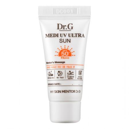 Миниатюра солнцезащитного крема Dr.G Medi UV Block Suncream SPF50+ PA+++ 15 ml