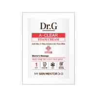Пробник очищающей пенки для проблемной кожи Dr.G A-ClearFoamCream 2 ml
