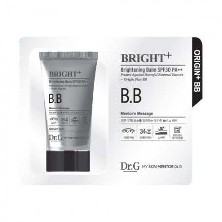 Пробник BB крема Dr.G Brightening Balm 1 ml