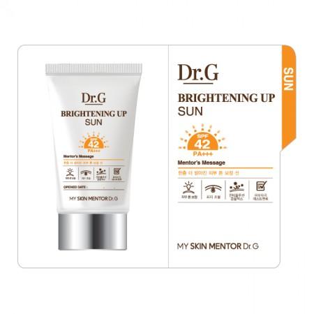Пробник солнцезащитный крем Dr.G Brightening Up Sun SPF42 PA+++ 1 ml