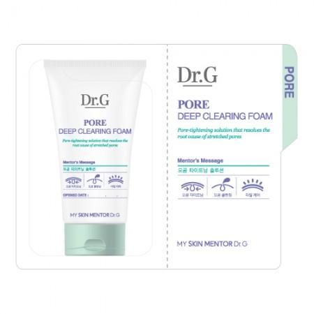 Пробник пенка для лица Dr.G Pore Deep Clearing Foam 1 ml