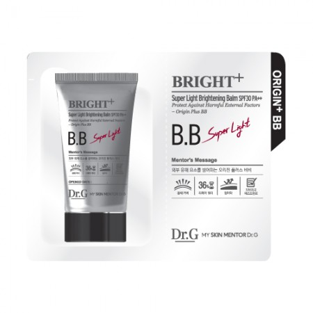 Пробник BB крема Dr.G Super Light Brightening Balm 1 ml