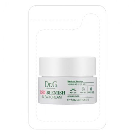 Пробник успокаивающий крем Dr.G Red-Blemish Clear Cream 2 ml
