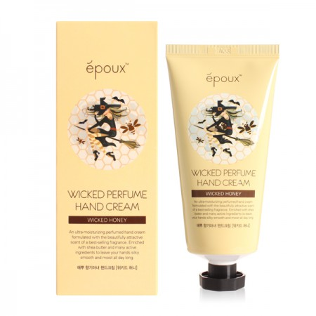 Крем для рук с натуральным экстрактом мёда Epoux Wicked Perfume Hand Cream Honey 80ml