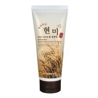 Пенка для умывания с экстрактом коричневого риса FoodaHolic Brown Rice Beyond Natural Foam Cleansing 180ml