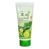 Пенка для умывания с экстрактом огурца FoodaHolic Cucumber Fresh Water Foam Cleansing 180ml