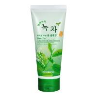 Пенка для умывания с экстрактом зеленого чая FoodaHolic Green Tea Fresh Soothing Foam Cleansing 180 ml