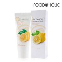 Увлажняющий крем для рук с экстрактом лимона FoodaHolic Lemon Moisture Hand Cream 100 ml