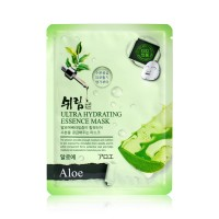 Маска тканевая увлажняющая с экстрактом алоэ Shelim hydrating essence mask aloe 25ml