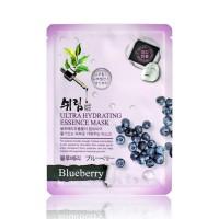 Маска тканевая увлажняющая с экстрактом черники Shelim hydrating essence mask blueberry 25ml