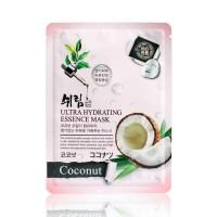 Маска тканевая увлажняющая с экстрактом кокоса Shelim hydrating essence mask coconut 25ml