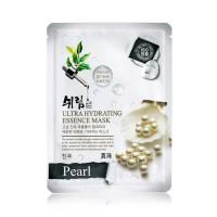 Маска тканевая увлажняющая с экстрактом жемчуга Shelim hydrating essence mask pearl 25ml