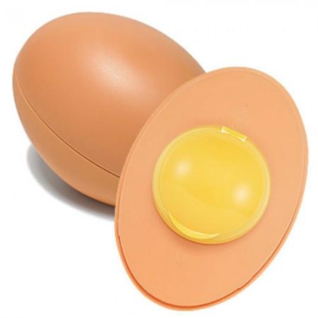 Очищающее мыло для лица Holika Holika Sleek Egg Skin Cleansing Foam 140ml (Beige)