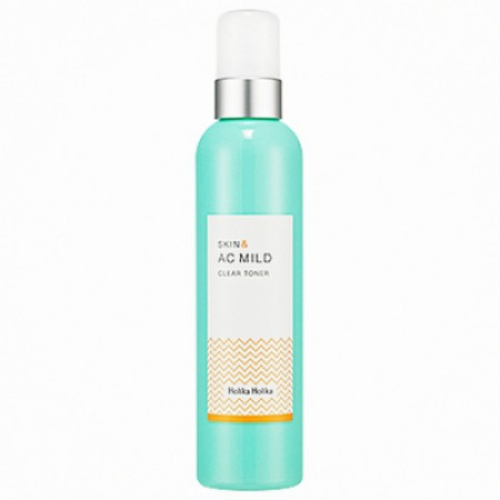 Очищающий тонер Holika Holika Skin&AC Mild Clear Toner 245ml