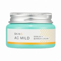 Увлажняющий крем-гель Holika Holika Skin&AC Mild Sebum X Mirror Cream 60ml