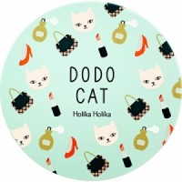 Компактное кремовое тональное средство Holika Holika Face 2 Change DODO CAT Glow Cushion BB (DODO's Going Out)