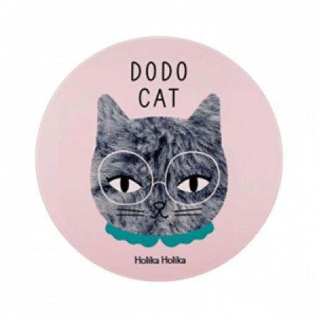 Компактное кремовое тональное средство Holika Holika Face 2 Change DODO CAT Glow Cushion BB (DODO's Rest)
