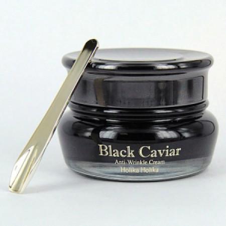 Лифтинг крем Holika Holika Black Caviar Antiwrinkle Cream