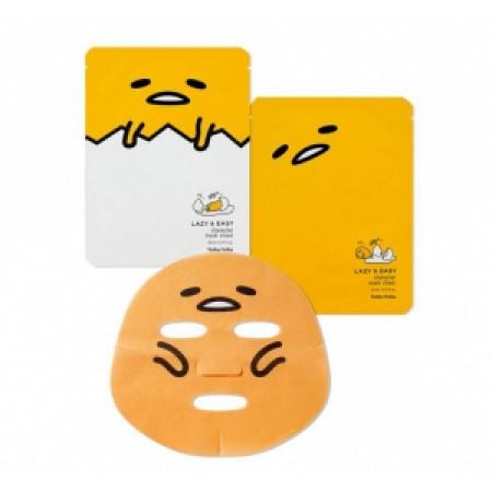 Успокаивающая тканевая маска, Holika Holika Gudetama Character Mask Sheet(1pcs)