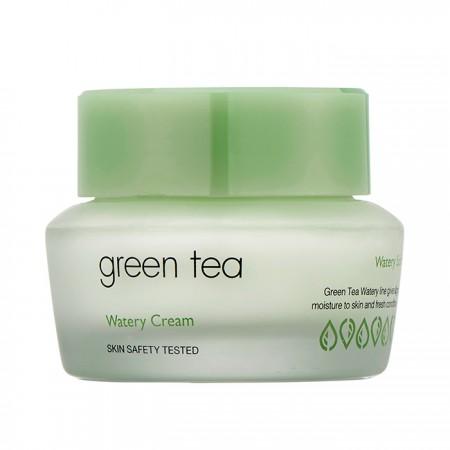 Увлажняющий крем для лица c экстрактом зеленого чая It's Skin Green Tea Watery Cream