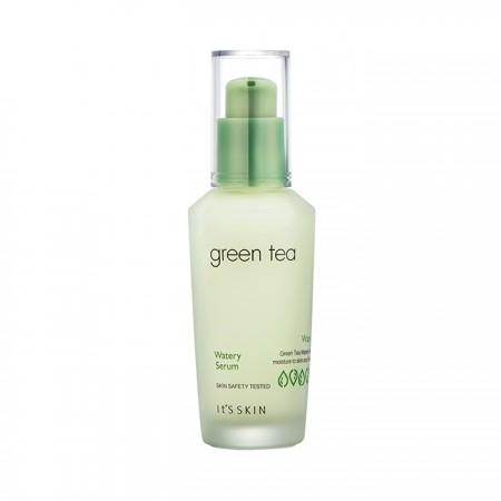 Увлажняющая сыворотка для лица с экстрактом зелёного чая It's Skin Green Tea Watery Serum
