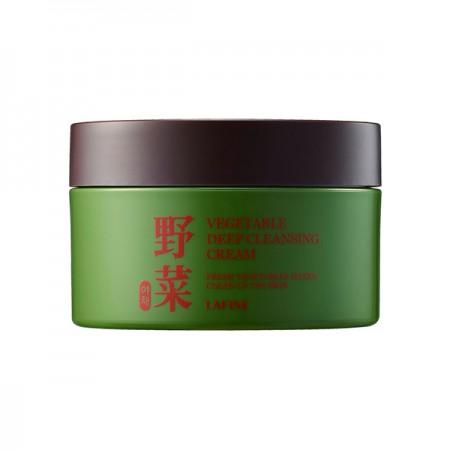 Овощной очищающий крем для снятия макияжа Lafine Vegetable Deep Cleansing Cream