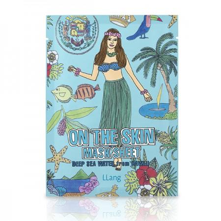 Тканевая маска (Гавайские морские воды) LLang On The Skin Mask Sheet (Deep Sea Water From Hawaii)