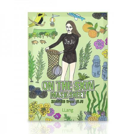 Тканевая маска (Морские водоросли с острова Чечжудо) LLang On The Skin Mask Sheet (Seaweed From Jeju)
