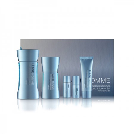 Набор для ухода за мужской кожей лица Llang Homme Basic Special Set