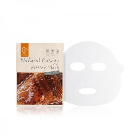 Тканевая маска с экстрактом пчелиного маточного молочка LLang Natural Energy Fitting Mask (Royal Jelly)
