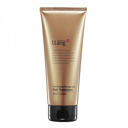 Маска-тритмент для волос LLang Red Ginseng Damage Care Treatment