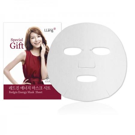 Тканевая маска с женьшенем LLang Redgin Energy Mask