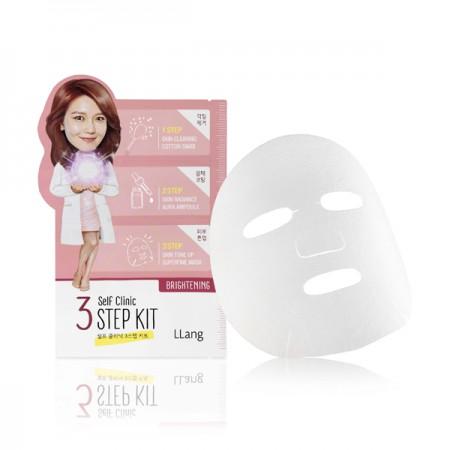3-ступенчатая осветляющая маска LLang Self Clinic 3 Step Kit Brightening