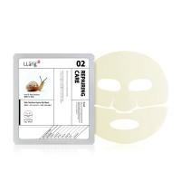 Гидрогелевая маска с улиточной секрецией LLang Skin Solution Hydro Gel Mask (Snail & Red Ginseng)