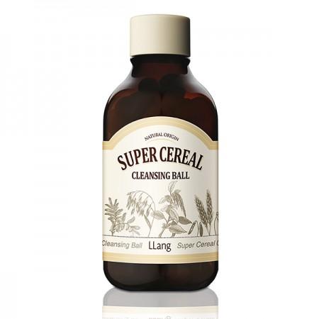 Пенка для очищения кожи лица LLang Super Cereal Cleansing Ball