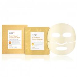 Гидрогелевая маска с золотом Super Repair Cream Gel Mask (Gold)