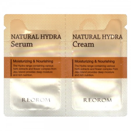Пробник Reorom Natural Hydra Cream and Serum