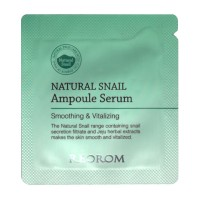 Пробник сыворотка c муцином улитки Reorom Natural Snail Ampoule Serum