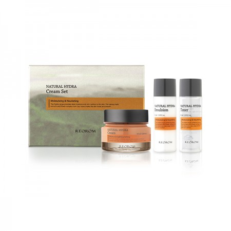 Набор Reorom Natural Hydra Cream Set