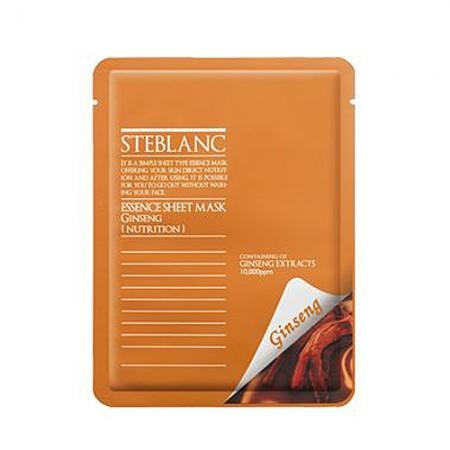 Маска для лица STEBLANC ESSENCE SHEET MASK-Ginseng