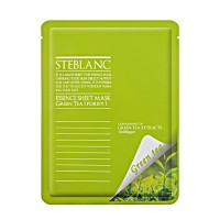Маска для лица STEBLANC ESSENCE SHEET MASK-Green Tea